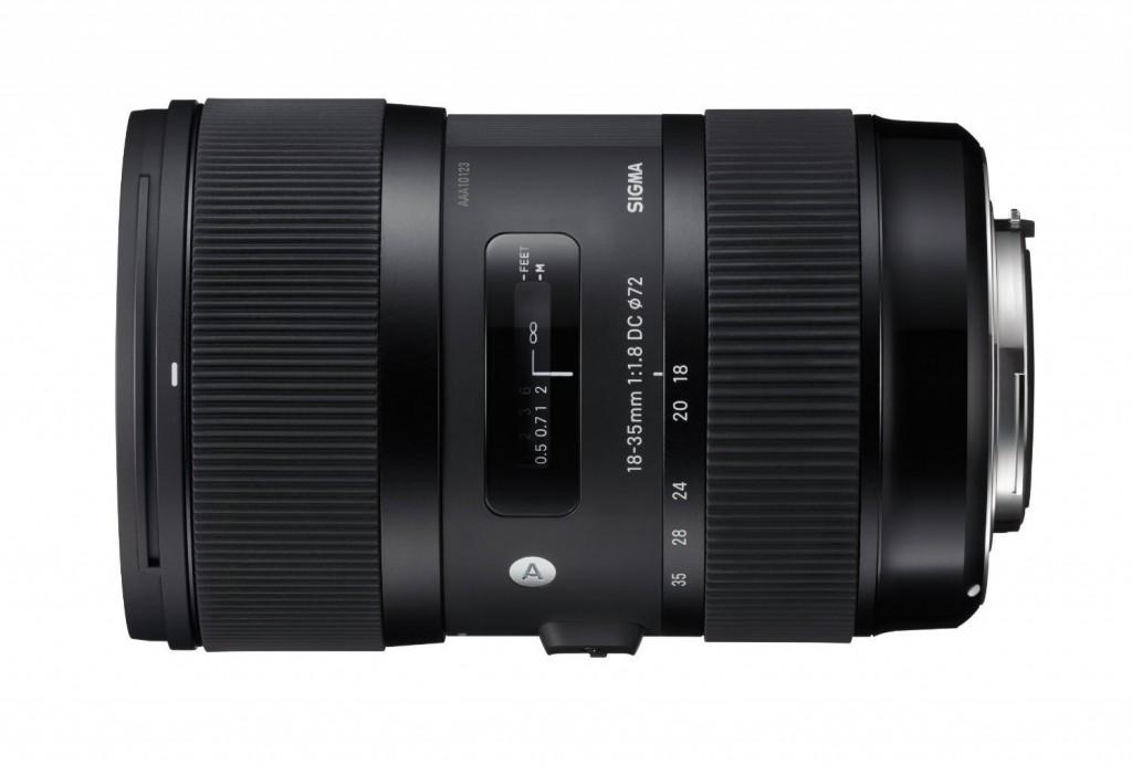 Sigma 18-35mm f1.8 DC lens