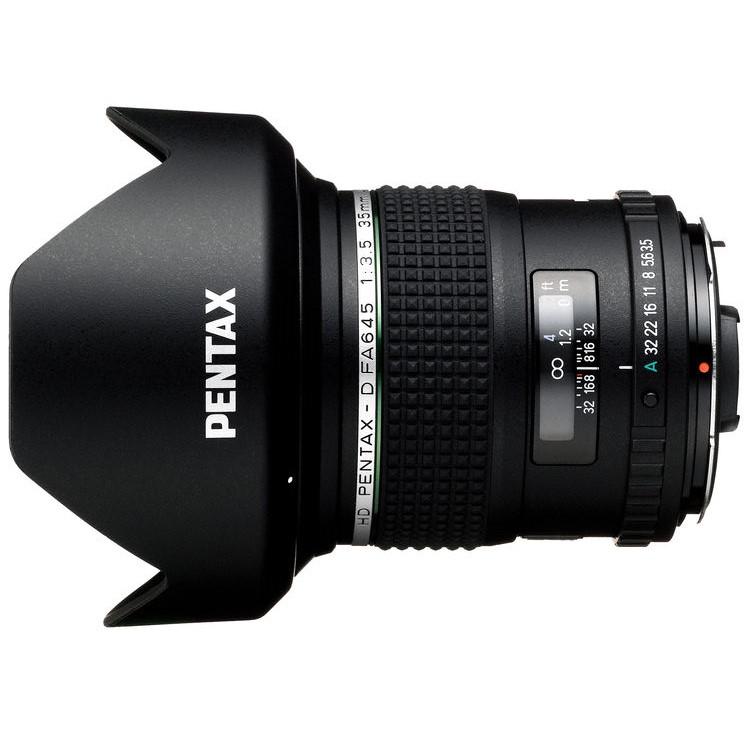 HD Pentax D FA 645 35mm F3.5 lens