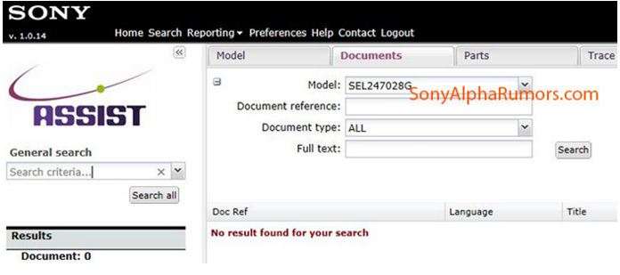 Sony FE 24-70mm F2.8 lens rumors