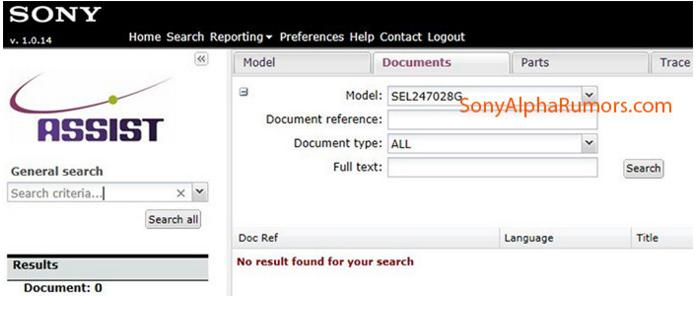 Sony FE 24-70mm F2.8 lens rumors