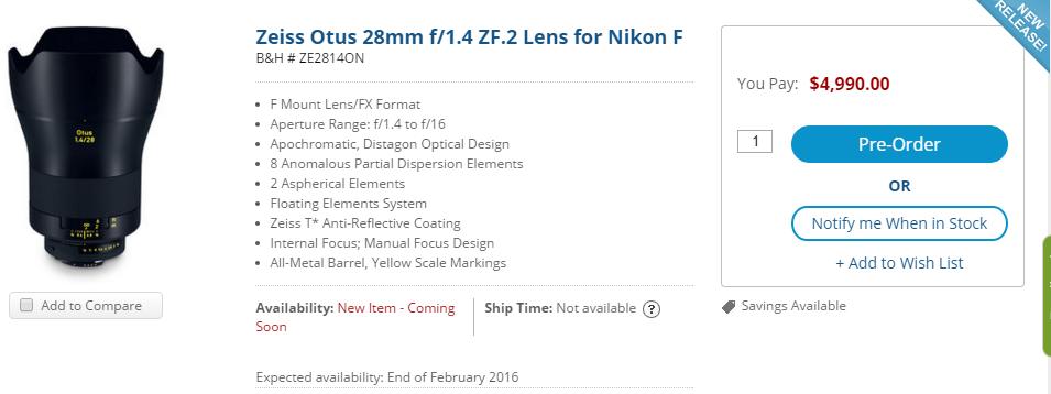 Zeiss-Otus-28mm-f1.4-lens-preorder