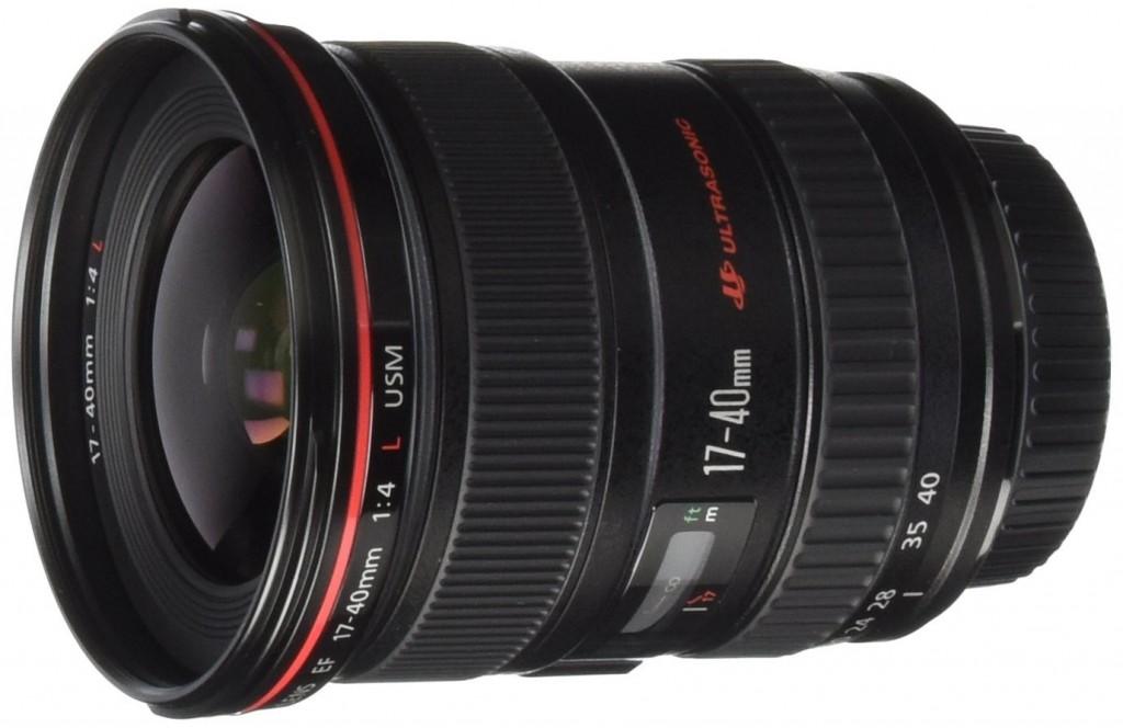 Canon ef 17-40mm F4L USM lens