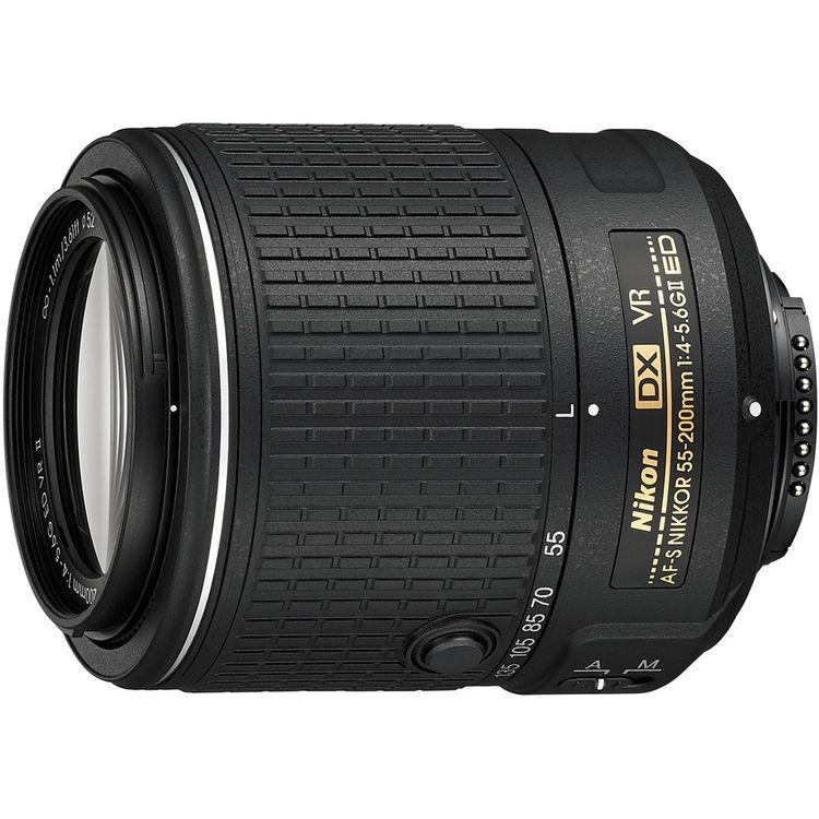 Nikon AF-S nikkor 55-200mm F4.5-5.6 DX VR II