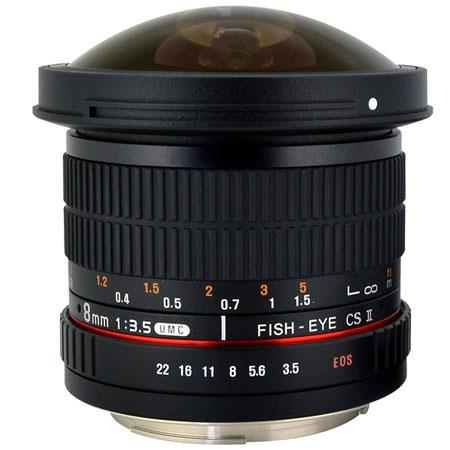 Rokinon 8mm F3.5 UMC lens for canon-nikon