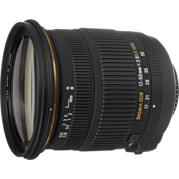 Sigma 17-50mm F2.8 EX DC HSM lens