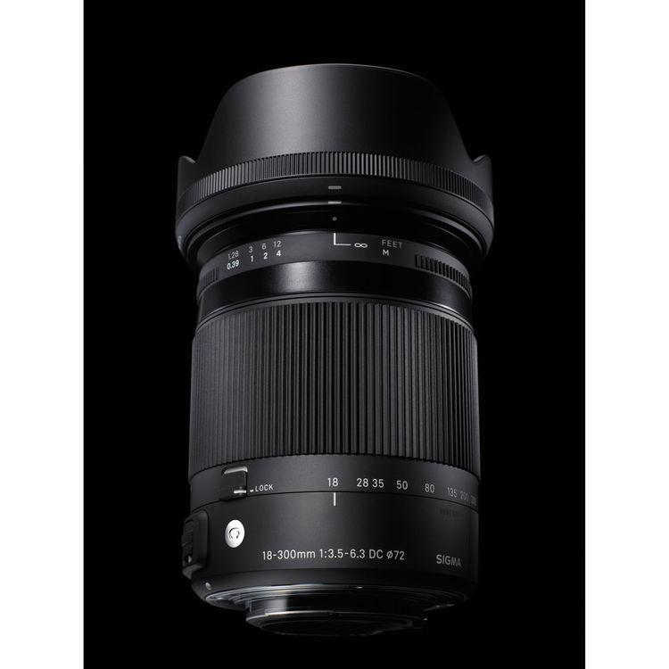 Sigma 18-300mm F3.5-6.3 DC MACRO OS HSM C lens