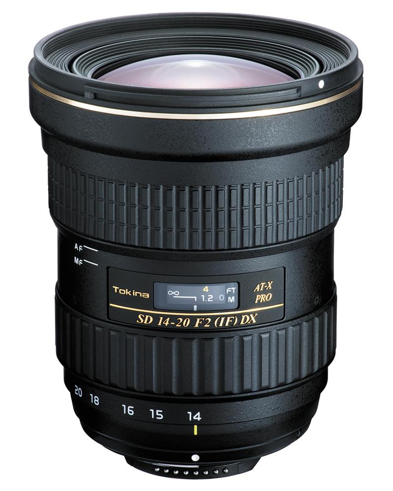 Tokina AT-X SD Pro 14-20mm F2 DX lens