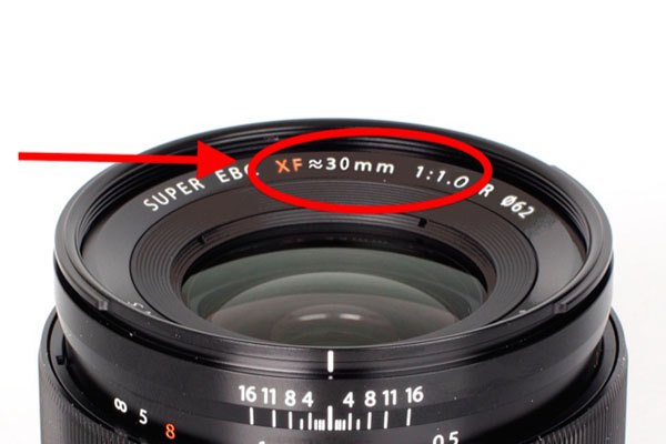 Fujifilm XF 30mm F1.0 R lens