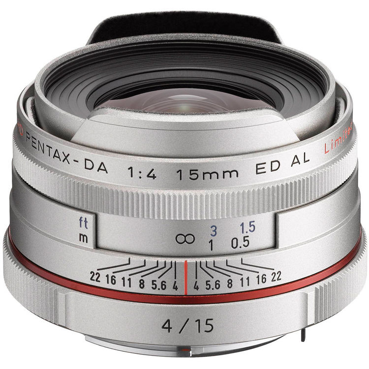 Pentax DA 15mm F4 ED lens