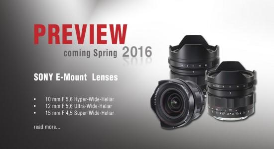 Voigtländer-announces-three-new-E-mount-lenses