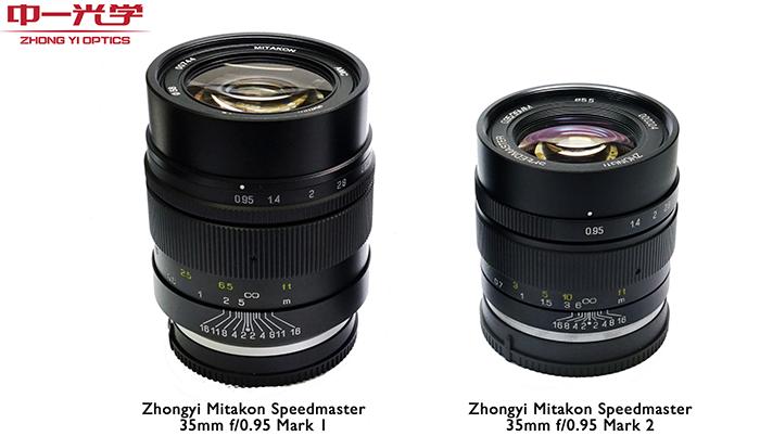 Zhongyi Mitakon 35mm F0.95 II lens