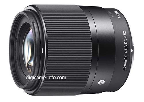 sigma_30mmf1.4dn C lens