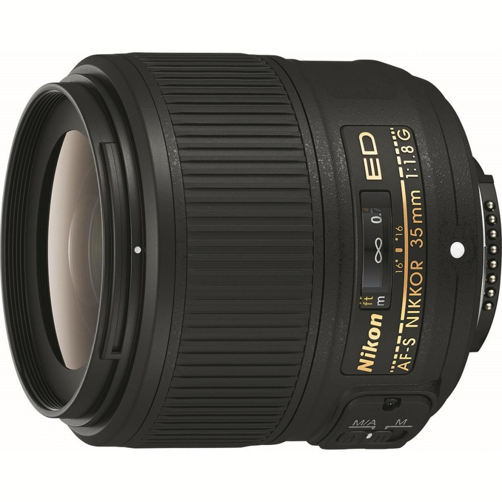Nikon 35mm F1.8G ED FX lens