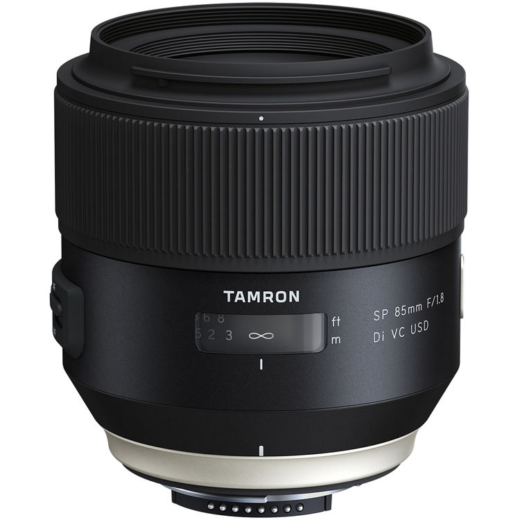 Tamron SP 85mm F1.8 Di VC USD lens
