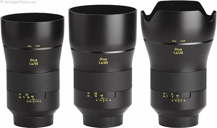Zeiss-28mm-f-1.4-Otus-Lens-Comparison-Otus-Lineup