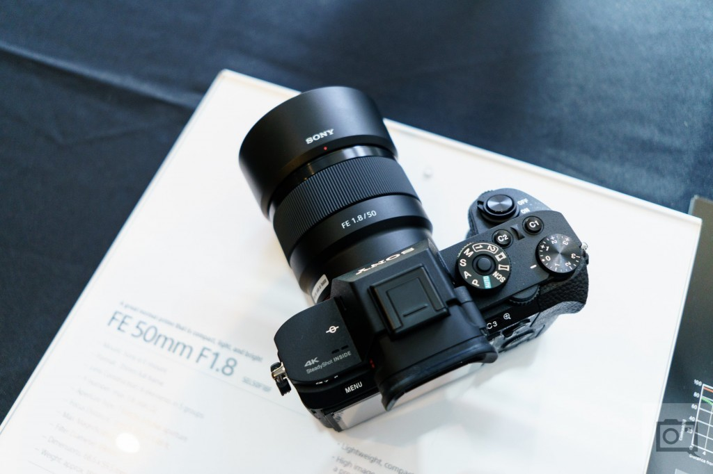 sony FE 50mm F1.8 lens with Sony a7r
