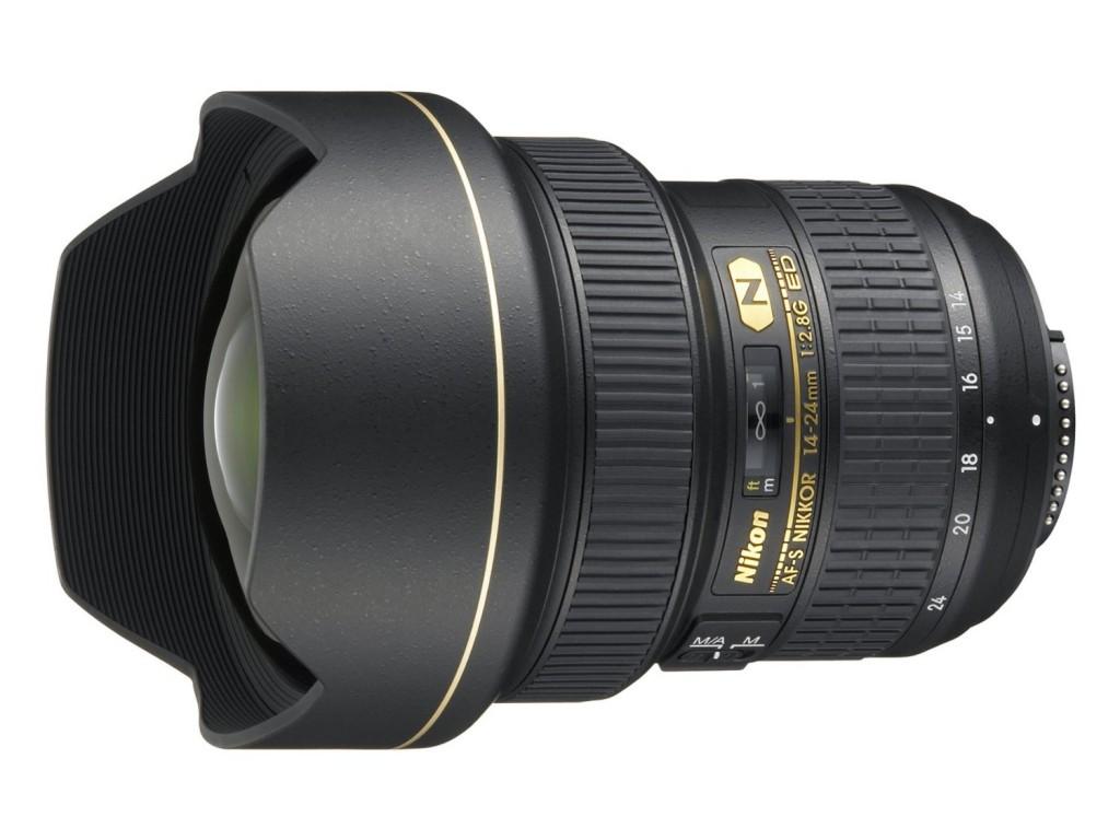 Nikon 14-24mm F2.8G ED AF-S nikkor lens