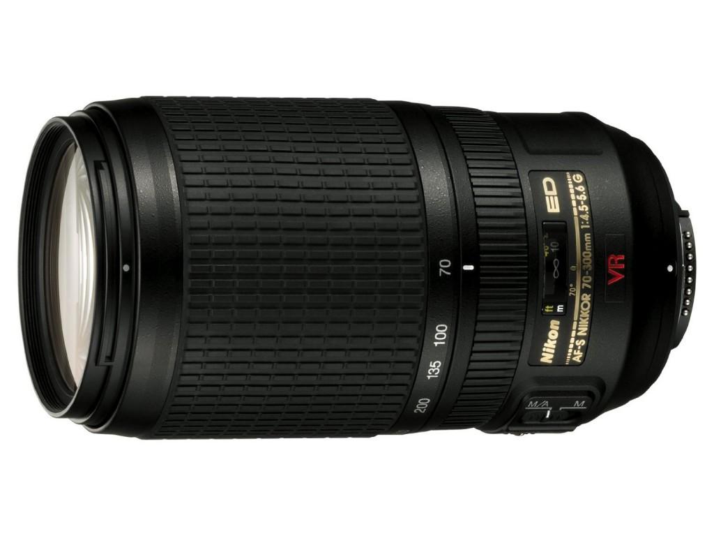 Nikon 70-300mm F4.5-5.6G ED VR lens
