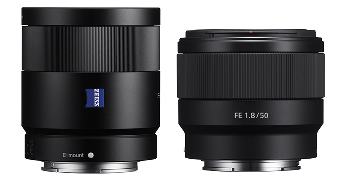 Sony FE 50 Vs. Zeiss 55mm comparision