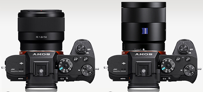 Sony FE 50 Vs. Zeiss 55mm comparision2