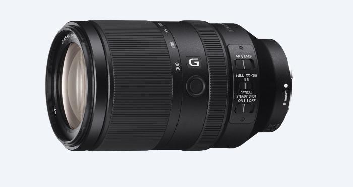 Sony FE 70-300mm lens