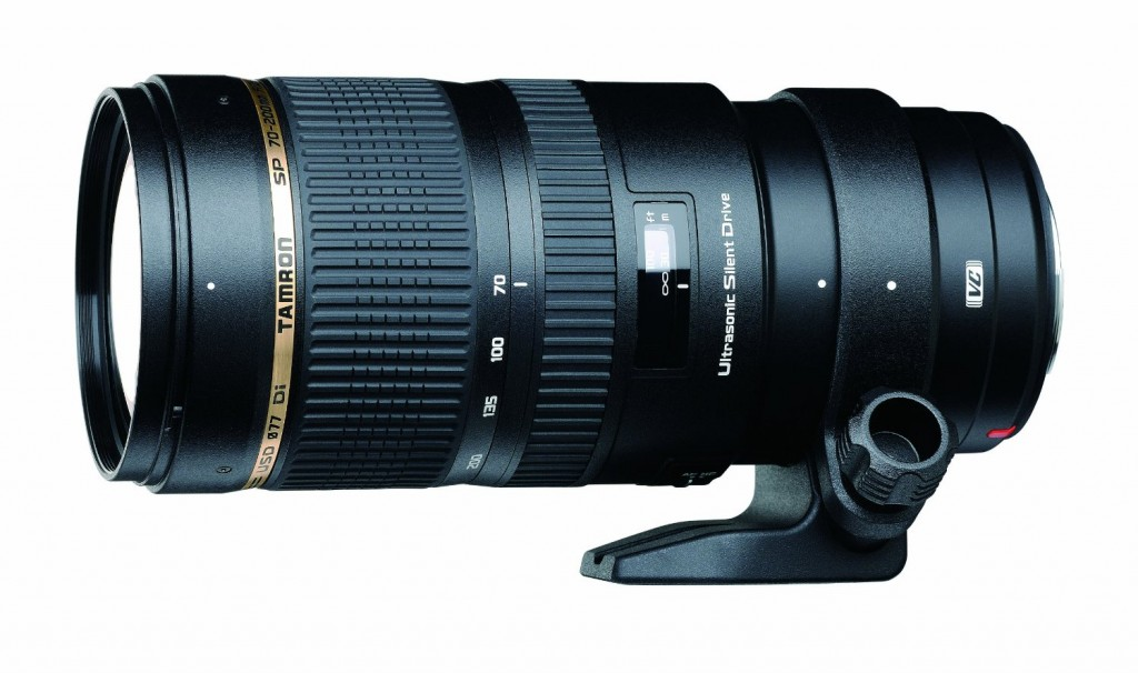 Tamron SP 70-200mm F2.8 DI VC USD lens