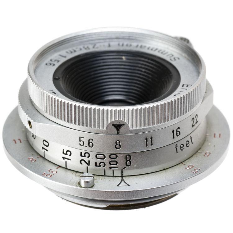 Leica 28mm summaron lens