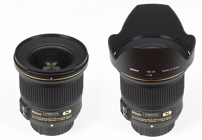 Nikon AF-S Nikkor 20mm F1.8 G ED lens Review