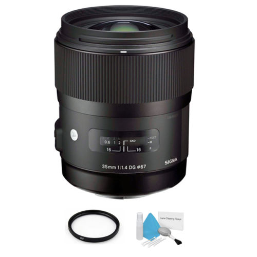 Sigma 35mm F1.4 DG Art lens deal