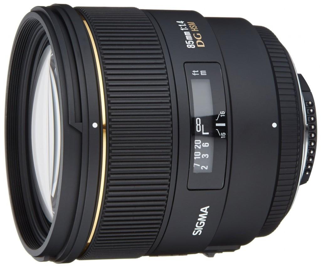 Sigma 85mm f1.4 DG EX lens