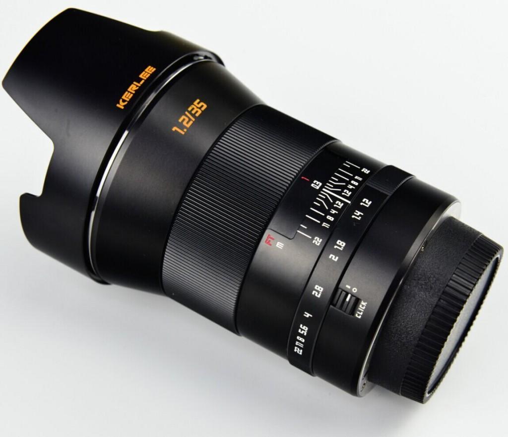 Kerlee 35mm F1.2 lens