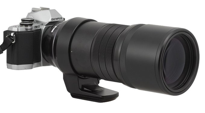 Olympus 300mm F4.0 ED IS Pro lens review