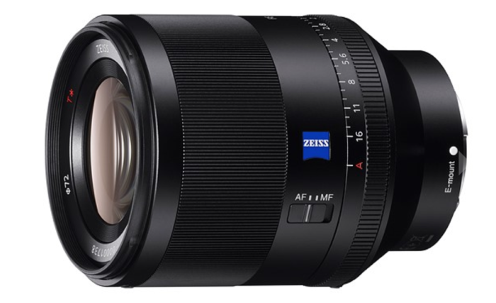 Sony FE Zeiss 50mm F1.4 ZA lens