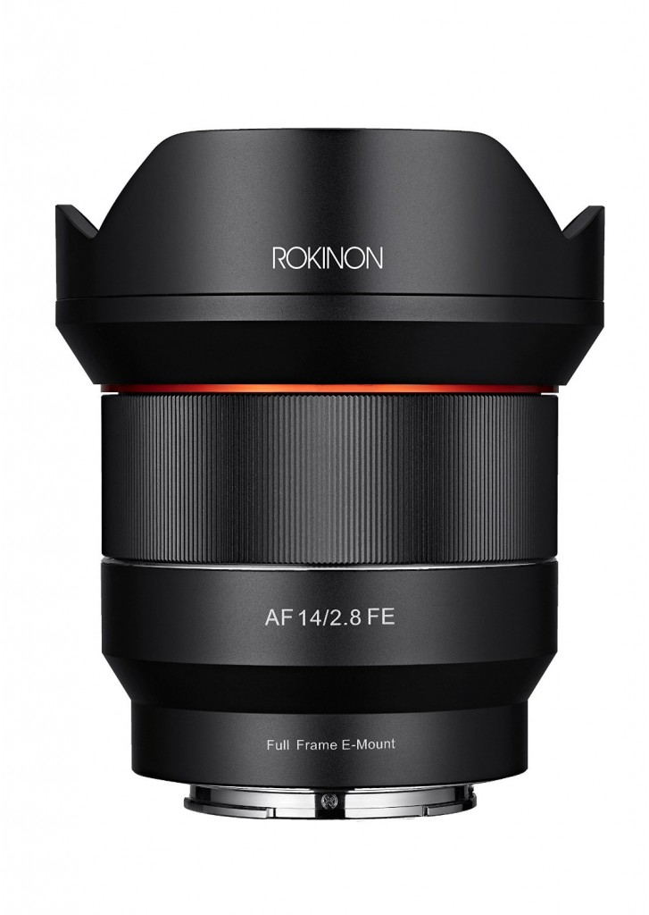 Rokinon AF 14mm f2.8 FE Lens for Sony E