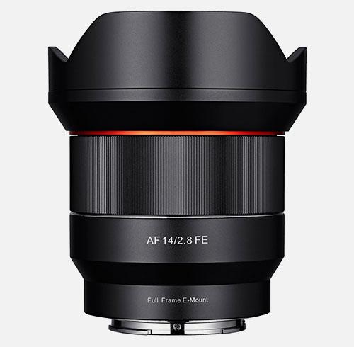 samyang FE 14mm f2.8 lens