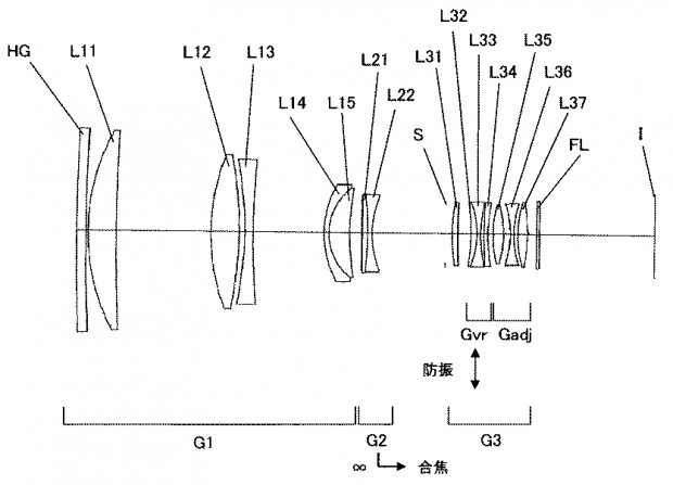 Nikon-Nikkor-300mm-f_2.8-FL-lens-patent
