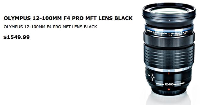 olympus-12-100mm-f4-pro-lens-price