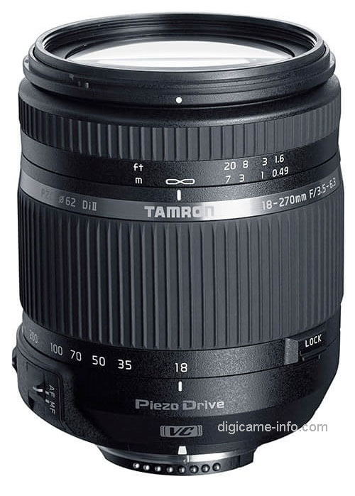 Tamron 18-270mm F3.5-6.3 Di II