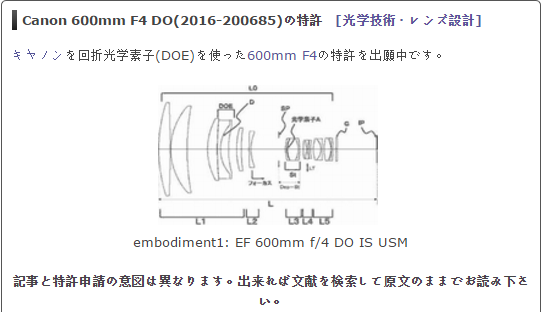 canon-ef-600mm-f4-do-is-usm-patent