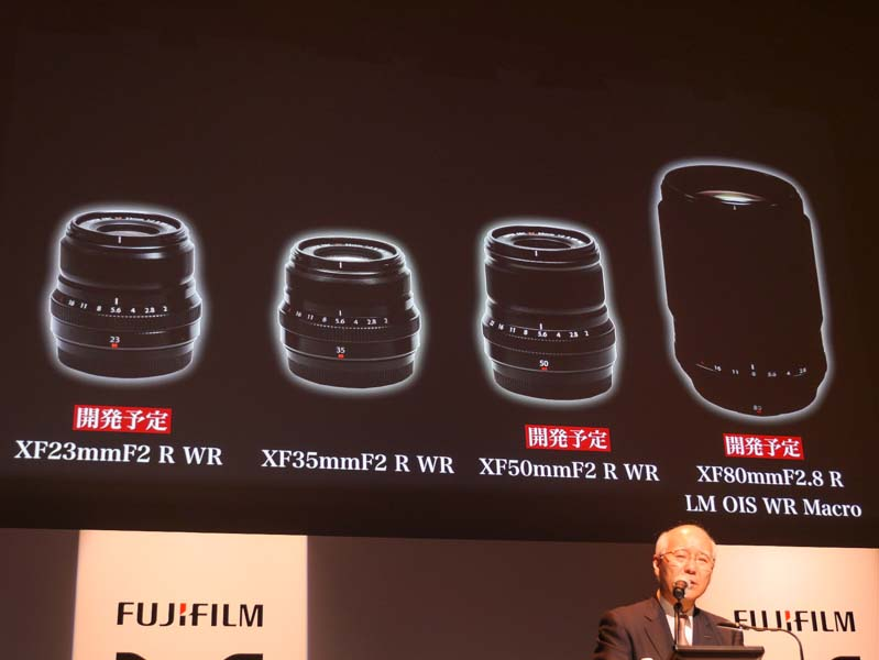 Fuji film New-Lenses