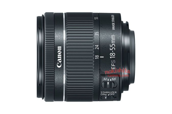 Canon EF 18-55mm F4-5.6 IS STM lens