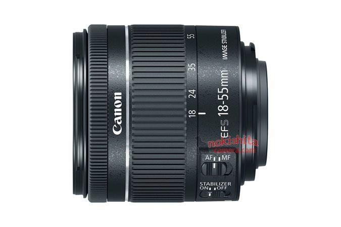 Canon EF 18-55mm F4-5.6 IS STM lens