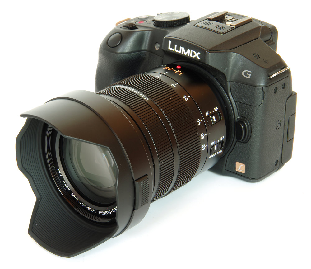 Panasonic leica_vario-elmarit_12-60mm_with_hood_on_lumix_g6_
