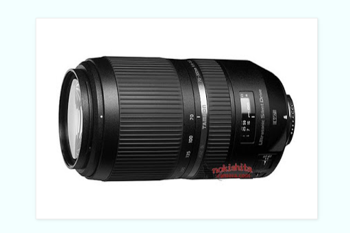 Tamron SP 70-300mm F4-5.6 Di VC USD lens