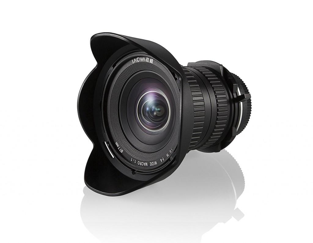 Venus Laowa 15mm F4 lens
