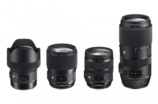 sigma-14-135 -24-70-100-400-lenses