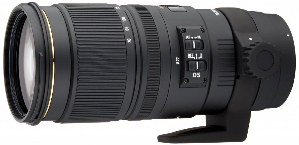 Sigma 70-200mm F2.8 APO EX DG lens