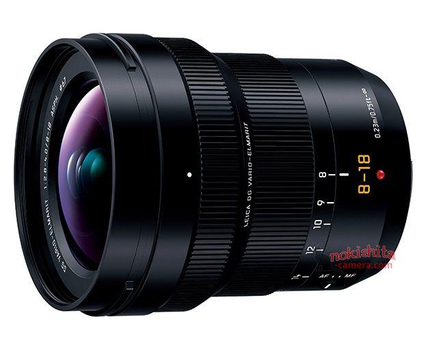 Panasonic Leica DG 8-18mm F2.8-4.0 lens
