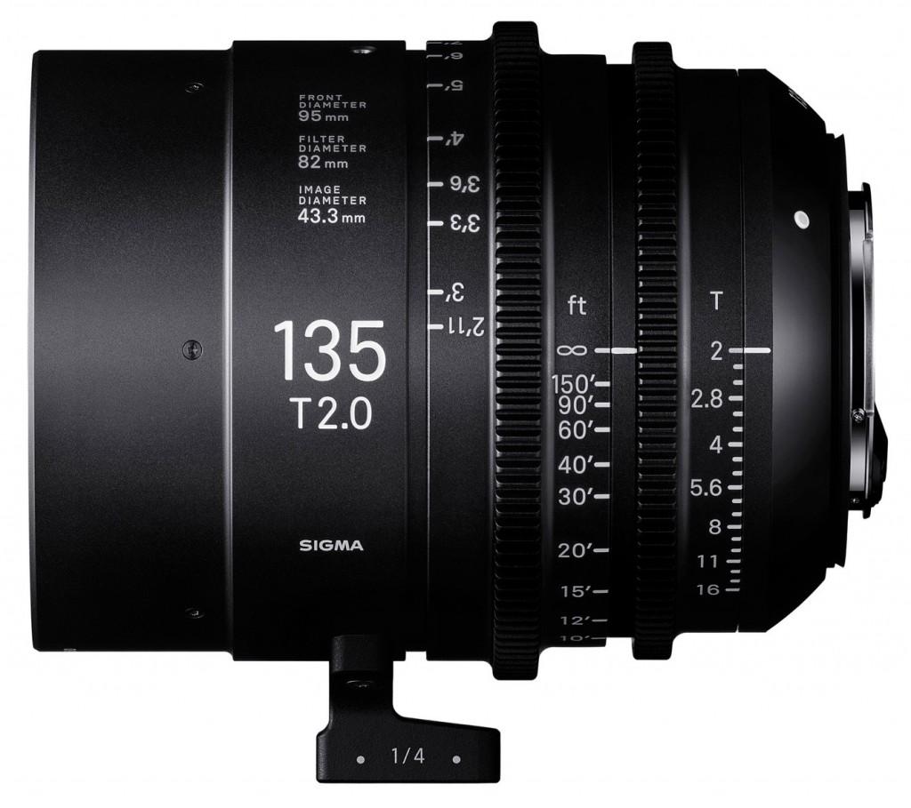 Sigma 135mm T2 Cine