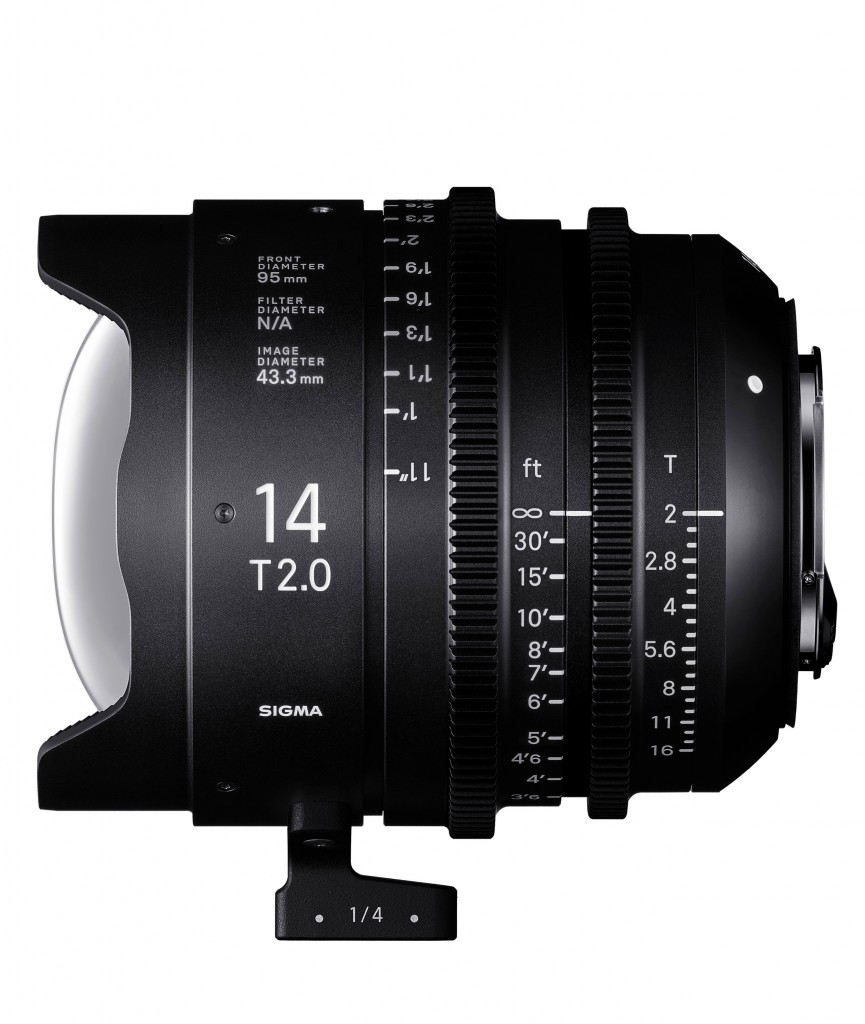 Sigma 14mm T2 Cine